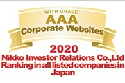 Nikko Investor Relations Co.,Ltd Ranking in all listed companies in Japan